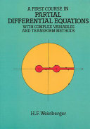 A First Course in Partial Differential Equations