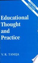 """""""Educational Thought And Practice"""" by V. R. Taneja"""