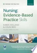 Nursing Evidence Based Practice Skills