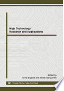 High Technology Research And Applications Book PDF