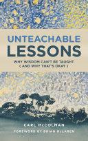 Pdf Unteachable Lessons Telecharger