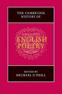 The Cambridge History of English Poetry ebook