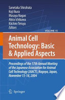 Animal Cell Technology Basic Applied Aspects