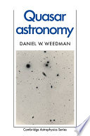 Quasar Astronomy Book