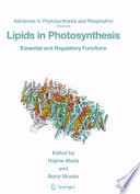 Lipids In Photosynthesis Book PDF