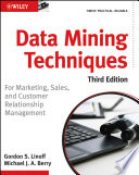 Cover of Data Mining Techniques