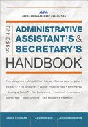 Administrative Assistant S And Secretary S Handbook