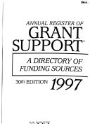 Annual Register of Grant Support