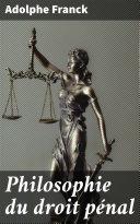 Pdf Philosophie du droit pénal Telecharger