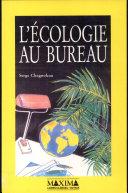 L'écologie au bureau