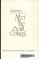 After the Spirit Comes Book