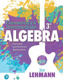 Elementary Intermediate Algebra [Pdf/ePub] eBook