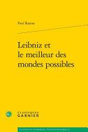 Leibniz et le meilleur des mondes possibles