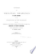 Facsimiles of Original Drawings by Hans Holbein  in the Collection of His Majesty