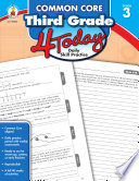 Common Core Third Grade 4 Today Book
