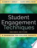 Student Engagement Techniques Book PDF