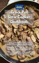 Crockpot Slow Cooker Cookbook