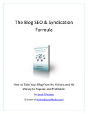 The Blog SEO & Syndication Formula