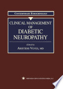 Clinical Management Of Diabetic Neuropathy Book PDF