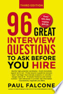 96 Great Interview Questions to Ask Before You Hire Book