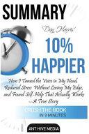 Dan Harris  10  Happier Book