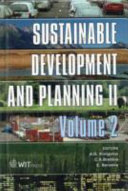 Sustainable Development And Planning Ii