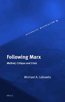 Following Marx