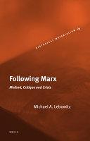 Following Marx