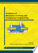 Problems Of Mechanics In Pump And Compressor Engineering