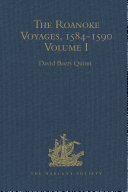 Pdf The Roanoke Voyages, 1584-1590
