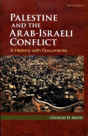 Cover of Palestine and the Arab-Israeli Conflict