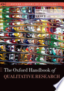 The Oxford Handbook of Qualitative Research