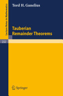 Pdf Tauberian Remainder Theorems Telecharger
