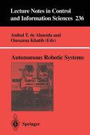 Autonomous Robotic Systems Book