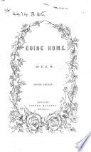 Going Home  A tale  By F  G  W  Book