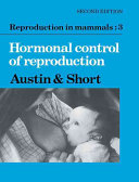 Pdf Hormonal Control of Reproduction