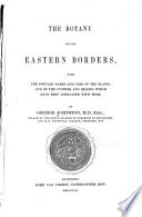 The Botany of the Eastern Borders Book