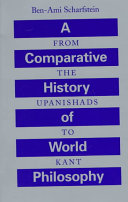 A Comparative History of World Philosophy