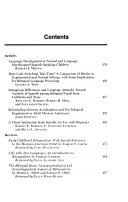 Hispanic Journal of Behavioral Sciences