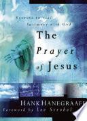 The Prayer Of Jesus