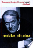 Negotiations, 1972-1990