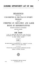 Economic Opportunity Act of 1964