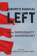 Pdf Europe's Radical Left Telecharger