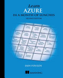 Learn Azure in a Month of Lunches  Second Edition