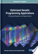 Optimized Genetic Programming Applications  Emerging Research and Opportunities Book