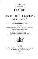 Flore de la région méditerranéenne de la France