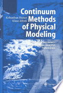 Continuum Methods Of Physical Modeling Book PDF