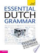 Essential Dutch Grammar: Teach Yourself