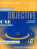 Objective CAE. Self-study student's book