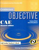 Objective CAE. Self-study student's book